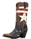 American Flag Cowgirl Boots cheap