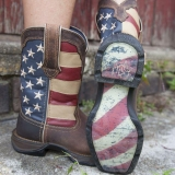 American Flag cowgirl boots ladies