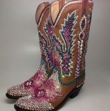 Cowgirl Boots Rhinestones