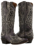 Cowgirl Boots with Rhinestones
