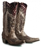 Sparkly Rhinestone Cowgirl Boots
