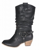 Black Cowgirl Boots for Women