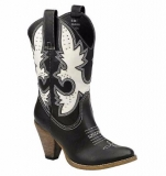 Cute Black Cowgirl Boots