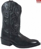 Girls Black Cowgirl Boots