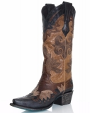 Ladies Black Cowgirl Boots