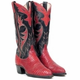 Red And Black Cowgirl Boots