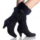 Black Womens Winter Boots