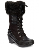 black winter boots for Women for Cold Weather