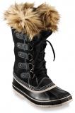 black winter boots women faux fur