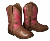 Brown Cowgirl Boots for Toddlers