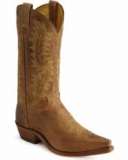 Brown Pointed Toe Cowgirl Boots