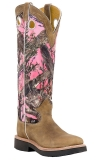 Pink Camo Cowgirl Boots 2017