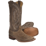 Brown Square Toe Cowgirl Boots