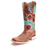 Cowgirl Square Toe Boots