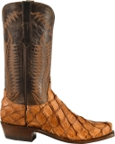 Narrow square toe cowgirl boots