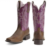 Square Toe cowgirl boots for women