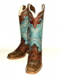 Womens Square Toe Cowgirl Boot