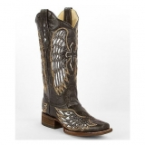 tall square toe cowgirl boots