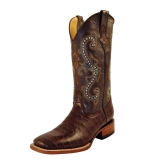 wide square toe cowgirl boots