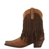 Cowgirl Boots with Fringe