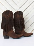 Fringe Cowgirl Boots for Girl