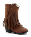 Fringe Cowgirl Boots for Toddlers