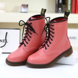 Women's Pink Combat Boots for Winters