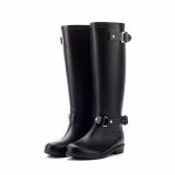 Black Rain Boots for Women