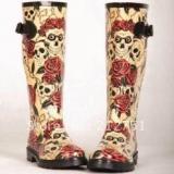 Skull Rain Boots for Women