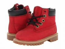 Red Timberland Boots for Kids