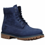 Navy Timberland Boots for Men