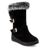 Hidden Wedge Snow Boots