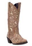 Wide calf cowgirl boot