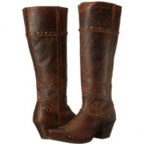 knee high wide calf cowgirl boots