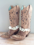 womens wide calf cowgirl boots