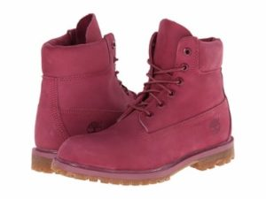Purple Timberland Boots for Women