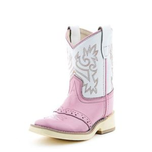 Old West Pink Cowgirl Boots