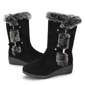 Wedge Snow Boots Waterproof
