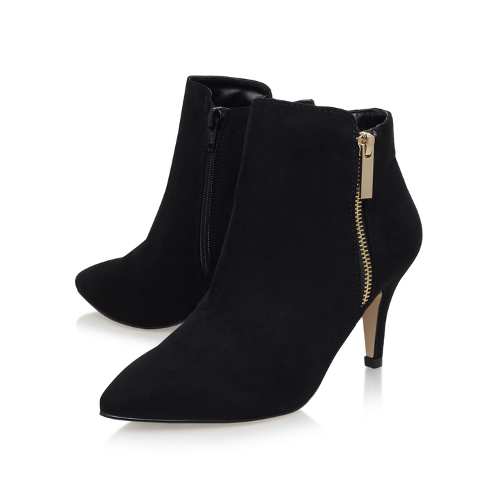 Best Black Ankle Boots with Low Heel for Women