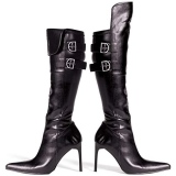Womens Leather Pirate Boots