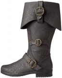 Flat Pirate Boots Women