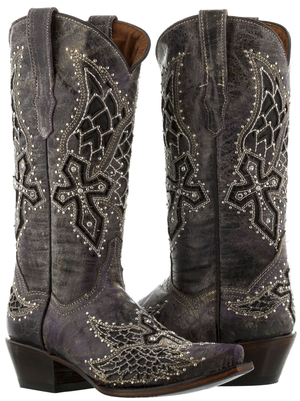 920d6d1e246 Cowgirl Boots with Rhinestones