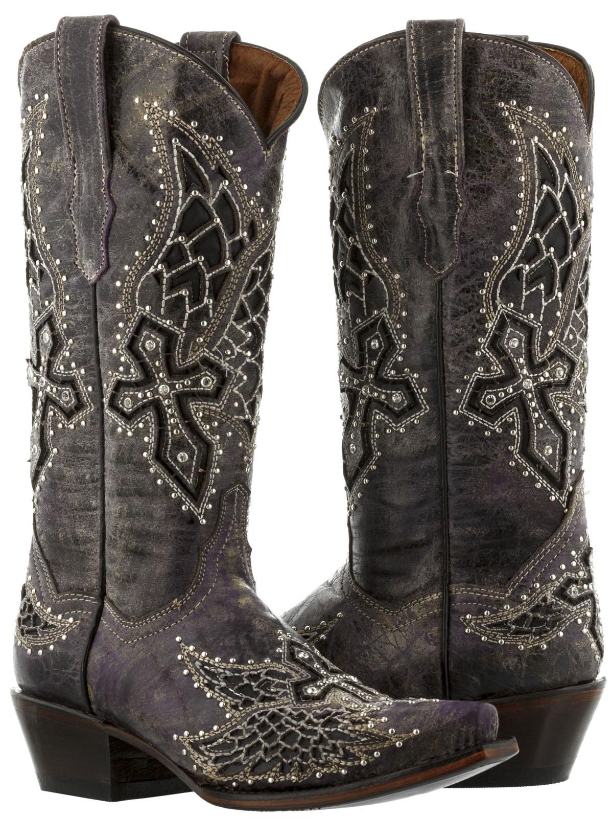 9dae1c02af8 Rhinestone Cowgirl Boots