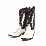Black and White Cowgirl Boots