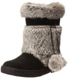 Black Fur Boot for Women