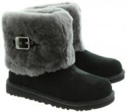 Fur Black Boots