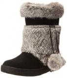 Black Fur Boot for Women