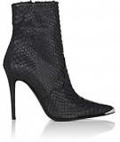 Women's Black Snakeskin Boots