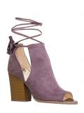 High Heel Peep Toe Shoes