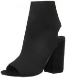 Peep Toe Block Heel Sandals